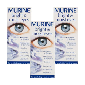 Murine Bright & Moist Eyes- Triple Pack