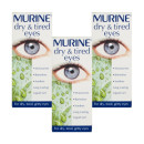 Murine Dry & Tired Eyes 15ml- Triple Pack