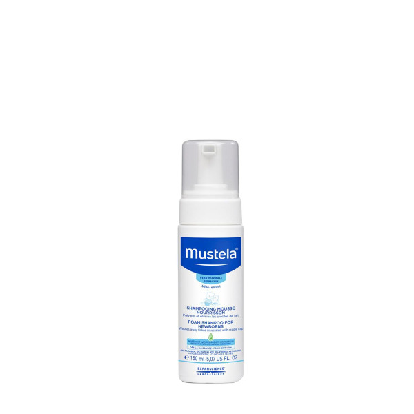 Mustela Foam Shampoo For New Borns