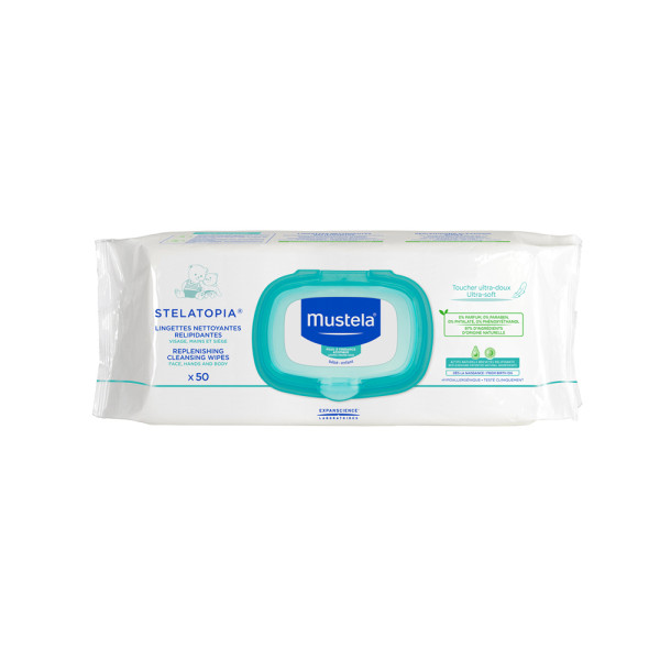 Mustela Replenishing Cleansing Wipes