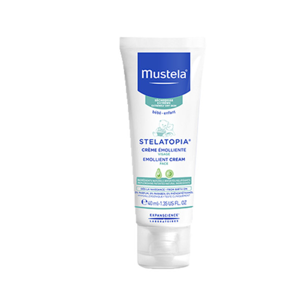 Mustela Stelatopia Emollient Cream for Face