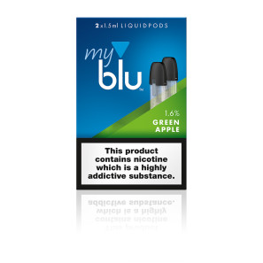 Myblu Liquid Pod Green Apple Flavour 1.6%