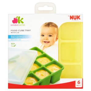 NUK Annabel Karmel Food Cube Trays