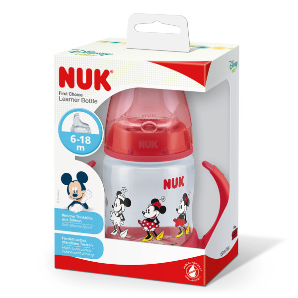 NUK Minnie First Choice Learner Bottle