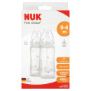 NUK First Choice+ Silicone Bottle Twin Pack 300ml