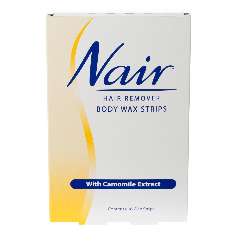 Nair Body Wax Strips