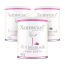 Nannycare 1 Goat Milk Based First Infant Milk From Birth - Triple Pack