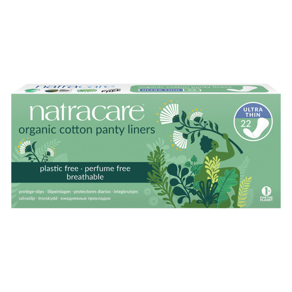 Natracare Organic Cotton Pantyliners Ultra Thin