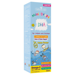 Natures Aid Childrens DHA Mini Drops
