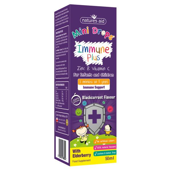 Natures Aid Immune Plus Mini Drops