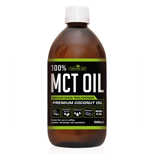 Natures Aid 100% MCT Oil