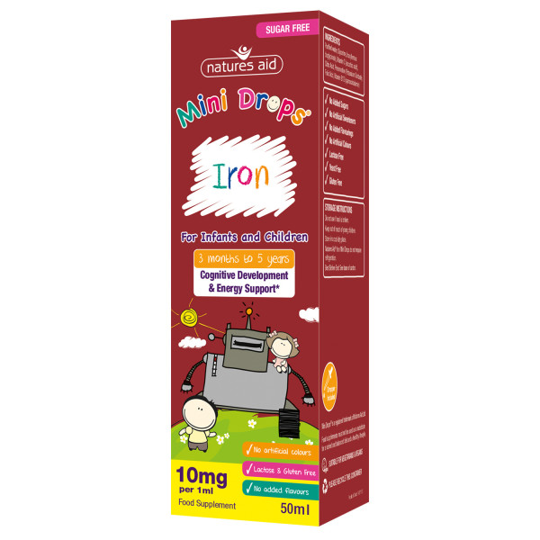 Natures Aid Mini Drops Iron