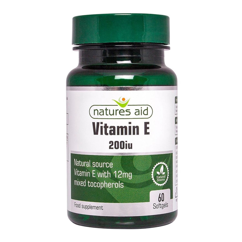 Natures Aid Vitamin E 200iu Natural Form
