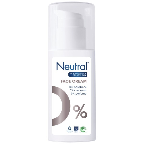 Neutral Face Moisturiser Cream for Sensitive Skin