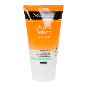 Neutrogena Clear & Defend 2 in 1 Wash-Mask