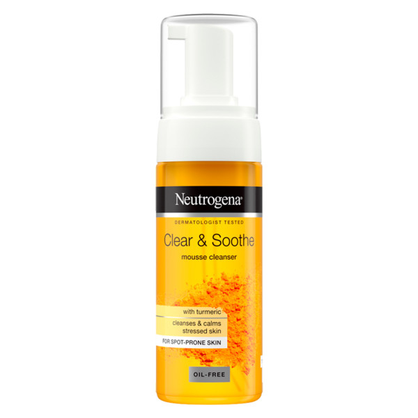 Neutrogena Clear & Soothe Mousse Cleanser
