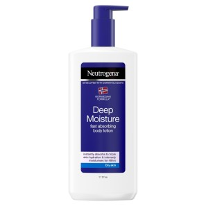 Neutrogena Deep Moisture Fast Absorbing Body Lotion