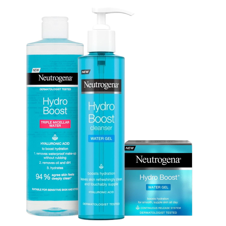 Neutrogena Hydro Boost Skincare Trio