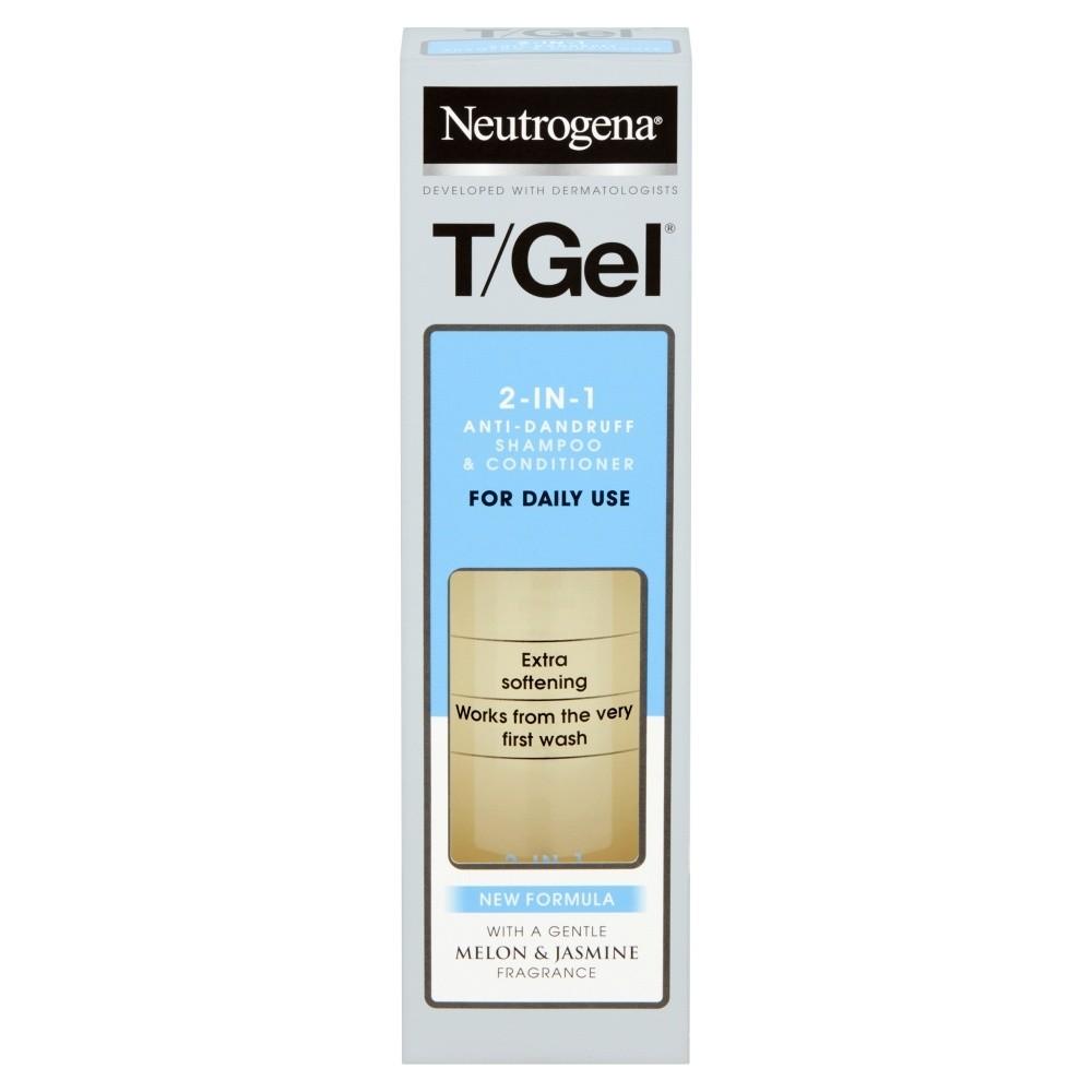 Neutrogena T/Gel Dandruff 2 in 1 Shampoo Plus Conditioner