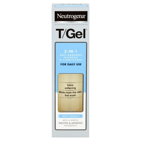 Neutrogena T/Gel Dandruff 2 in 1 Shampoo Plus Conditioner