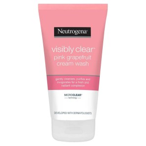 Neutrogena Visibly Clear Pink Grapefruit Cream Facial Wash