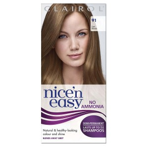 Clairol Nice N Easy Lasting Colour Dark Blonde Non-Perm 91