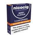 Nicocig Cartomiser Berry Blast Medium 11mg