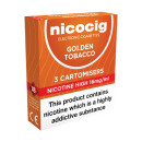 Nicocig Cartomiser Golden Tobacco High 16mg