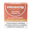 Nicocig Cartomiser Golden Tobacco Low 6mg
