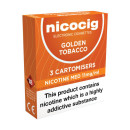 Nicocig Cartomiser Golden Tobacco Medium 11mg