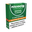 Nicocig Cartomiser Menthol Medium 11mg