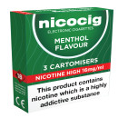 Nicocig Cartomiser Menthol High 16mg