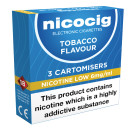 Nicocig Cartomiser Tobacco Low 6mg