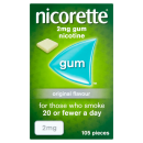 Nicorette Original Gum 2mg 420 Pieces