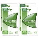 Nicorette 4mg Freshmint Gum Four Pack (4 x 105 Pieces)
