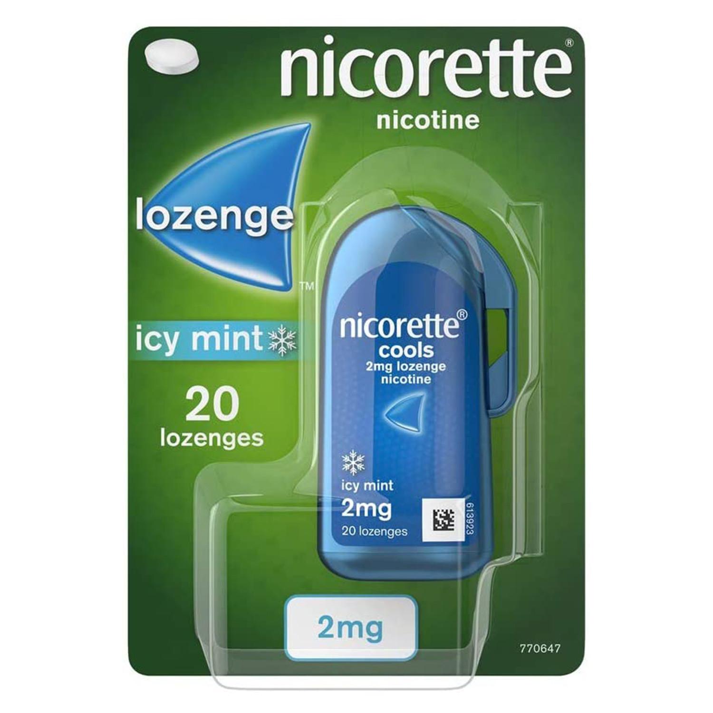 Nicorette Cools Lozenge 2mg 20 Pack