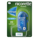 Nicorette Cools Icy Mint Lozenge2mg 20 pack