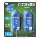 Nicorette Cools Icy Mint Lozenge 4mg 4x 20 pack