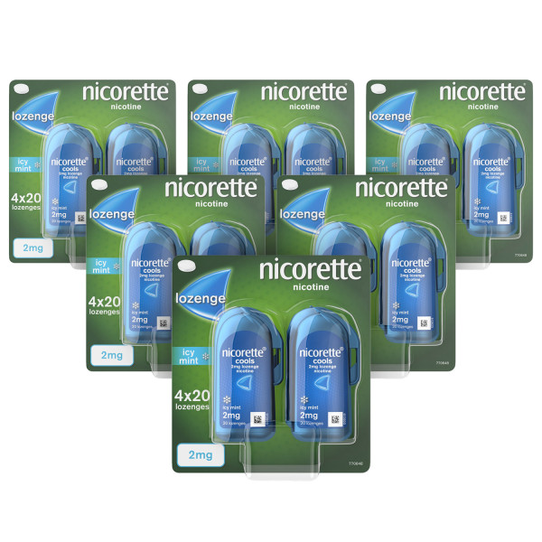 Nicorette Cools Lozenges Mint 2mg 480 Lozenges