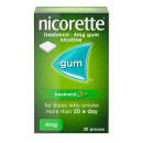 Nicorette Freshmint 4mg 30 Pieces