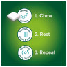 Nicorette Freshmint Chewing Gum 2 mg 105 Pieces