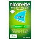 Nicorette Freshmint Gum 2mg 105 Pieces