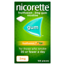 Nicorette Fruitfusion Gum 2mg 105 Pieces