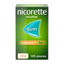Nicorette Fruit Fusion Chewing Gum 2mg 105 Pieces