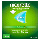 Nicorette Freshmint Chewing Gum 4 mg 210 Pieces