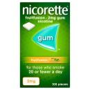 Nicorette Fruitfusion Gum 2mg 105 Pieces