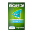 Nicorette Gum Icy White Mint 2mg 30 Pieces