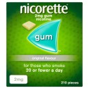 Nicorette Gum Original 2mg 210 pieces