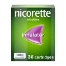 Nicorette Inhalator 15 mg 36 Cartridges