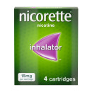 Nicorette Inhalator 15 mg 4 Cartridges